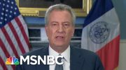 Bill De Blasio: The Federal Government Has Been Absent | Morning Joe | MSNBC 4