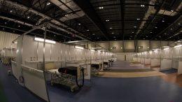 U.K. convention centre transforms into temporary hospital 6