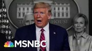 WAPO: Intel Reports Warned Trump Admin. Of Likely Pandemic | The 11th Hour | MSNBC 3