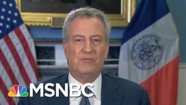 Bill De Blasio: People Know What Time It Is On Shelter-In-Place | Morning Joe | MSNBC 6