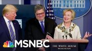 Trump Jokingly Walks Away As Doctor Birx Says She Had Fever Over Weekend | The Beat with Ari | MSNBC 2