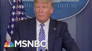 Trump's Patience With Dr. Fauci Begins To Wear Thin | Morning Joe | MSNBC 5