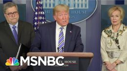 Ezra Klein: Trump's Economic View Of Coronavirus A 'False Choice' | The Last Word | MSNBC 8