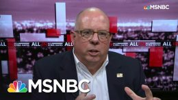 GOP Governor 'Not Happy' With Trump's Calls To Open Economy | All In | MSNBC 1