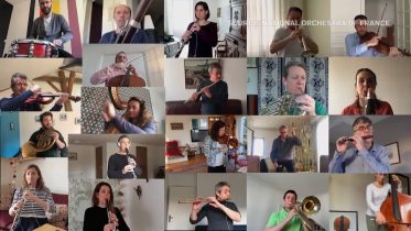 Isolated French orchestra's remote Bolero rendition hits right note 6
