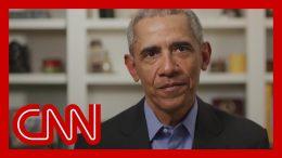 Obama breaks his silence, endorses Biden in video message 7