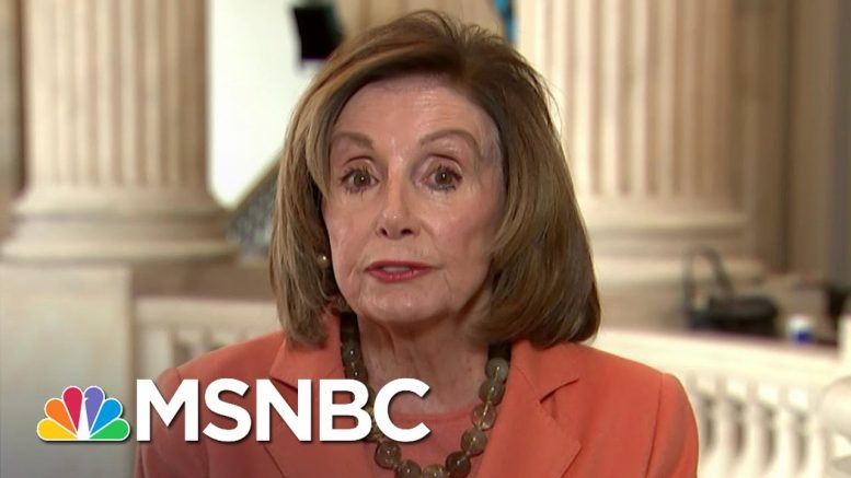 Pelosi: Fauci A 'Truth Teller,' Lifting Restrictions Brings 'Uncertainty' | Andrea Mitchell | MSNBC 1