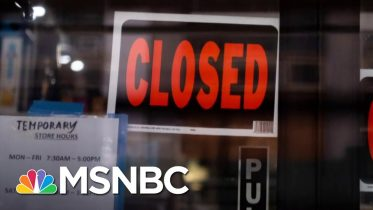 Small Businesses Feeling The Brunt Of Coronavirus Pandemic | Stephanie Ruhle | MSNBC 6