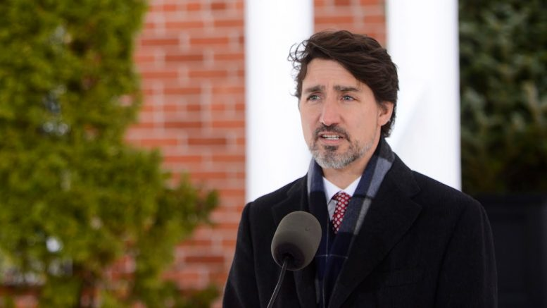 Trudeau announces aid for Canadian energy sector 1