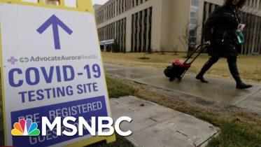 Gov. Whitmer On Coronavirus Surge: 'It's A Dire Situation'   The Last Word   MSNBC 6