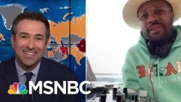 Michelle Obama Joins DJ D-Nice To Rally Voters And 'Party With A Purpose' During Pandemic | MSNBC 5