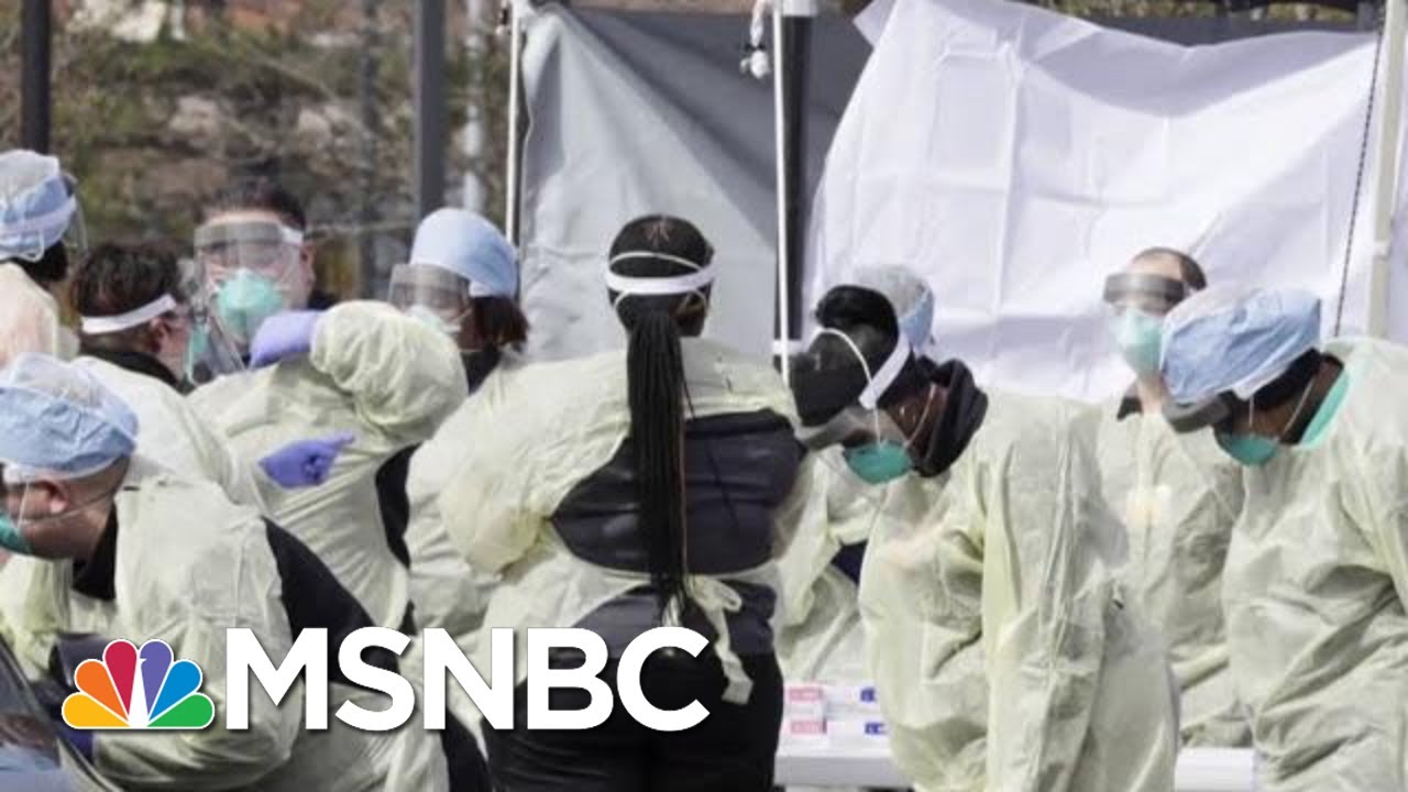 Health Officials In Michigan Confirm Letter On Life And Death Protocols | Morning Joe | MSNBC 1