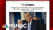 Reporter Yamiche Alcindor Reacts To Sunday's Briefing | Morning Joe | MSNBC 5