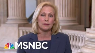 Sen. Gillibrand: Trump 'Delusional' For Attacking First Responders | Hallie Jackson | MSNBC 6