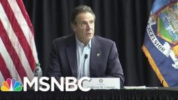 Andrew Cuomo Responds To Trump Accusation That NYC Is Letting PPE 'Go Out The Back Door' | MSNBC 6