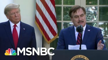 My Pillow CEO details how company is fighting COVID-19 | MSNBC 6