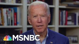 Joe Biden : Trump Needs To Use The Defense Production Act 'Much More Aggressively' | MSNBC 5