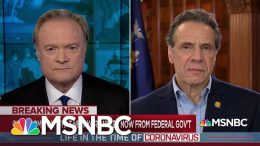 Gov. Cuomo: Coronavirus Pandemic Is 'A Full Bown, Nationwide Crisis' | The Last Word | MSNBC 8