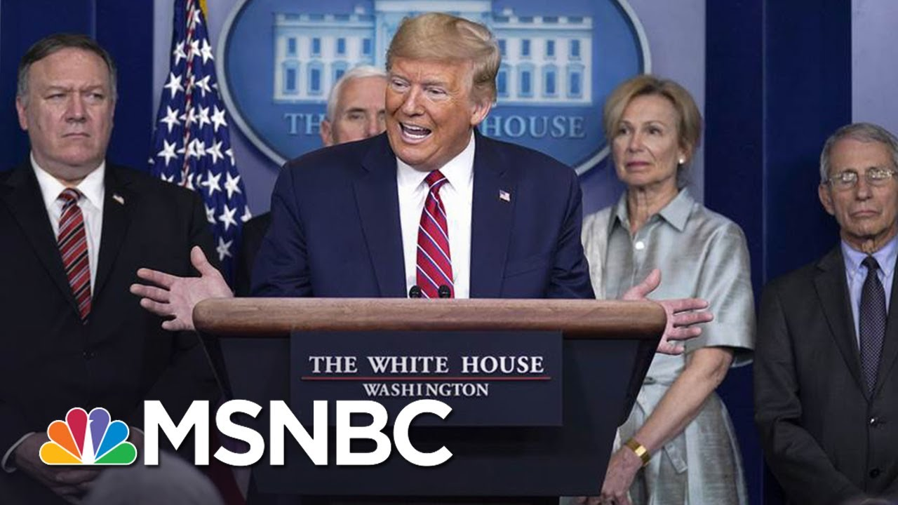 Millions Watch The White House Coronavirus Briefings. What Do They See? | The Day That Was | MSNBC 4