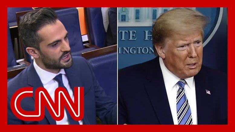 Trump pressed to explain coronavirus briefing behavior 1
