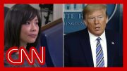 Trump berates female reporter as he continues attacks on media 3