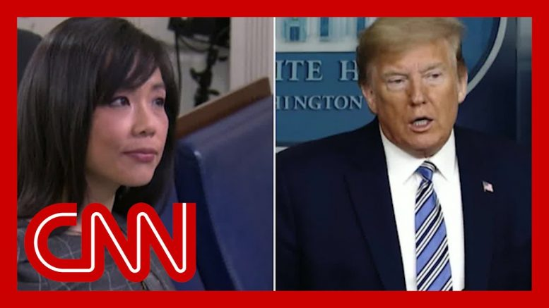 Trump berates female reporter as he continues attacks on media 1