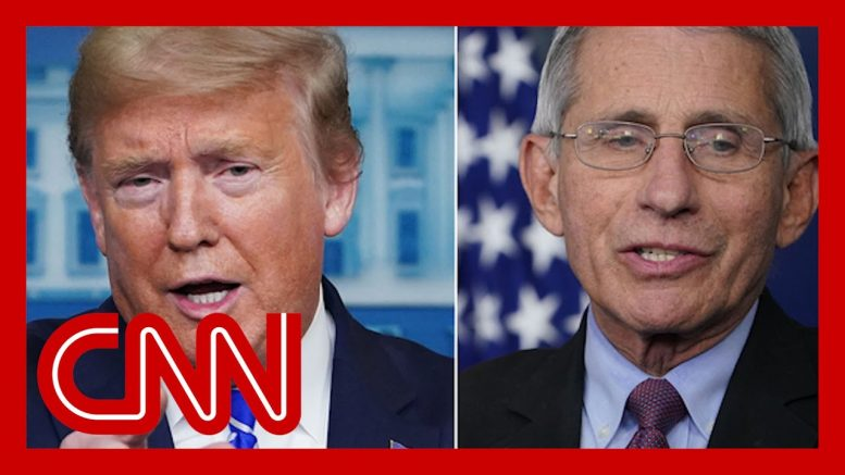 Trump disagrees with Fauci on US testing capacity 1