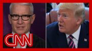 Anderson Cooper: Trump just lied about something we all witnessed 2