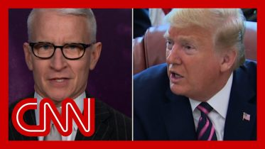 Anderson Cooper: Trump just lied about something we all witnessed 6