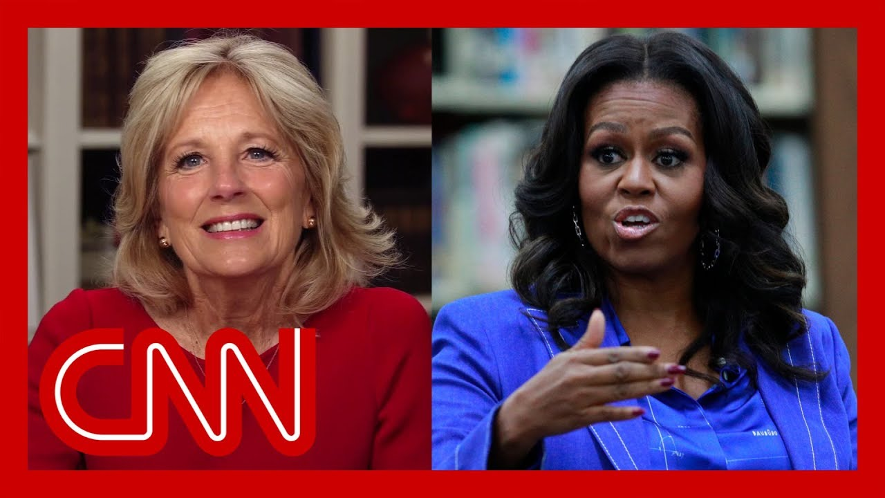 Jill Biden on possibility of Michelle Obama as husband's running mate 1
