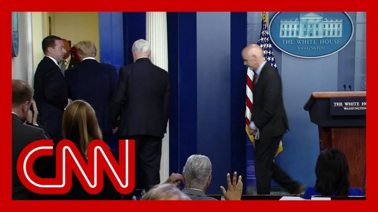 Donald Trump abruptly ends Covid-19 task force briefing 1
