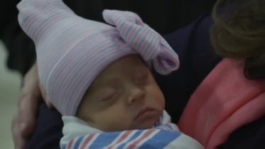 N.Y. mother meets her daughter after emergency C-section 2