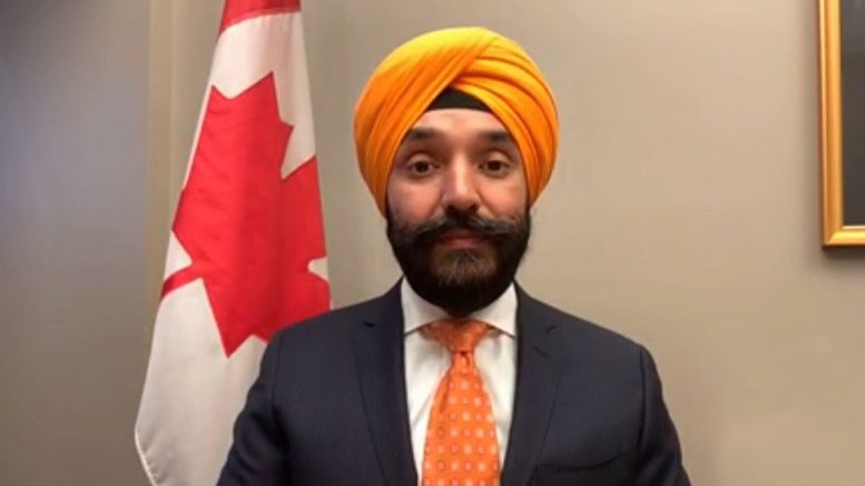 """Minister Bains says he has """"complete confidence"""" in Dr. Tam 1"""