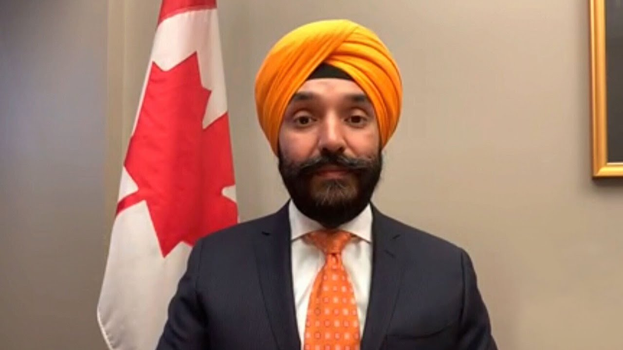 """Minister Bains says he has """"complete confidence"""" in Dr. Tam 9"""
