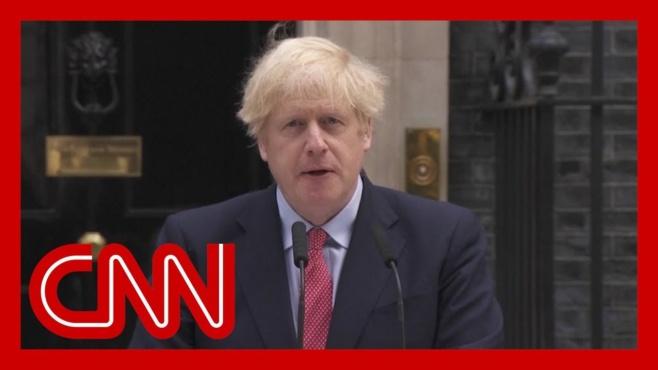 Watch Boris Johnson's first speech after Covid-19 battle 9
