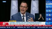 Que. unveils plan to reopen some schools 5