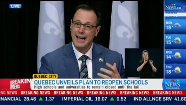 Que. unveils plan to reopen some schools 6