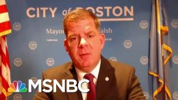 Boston Mayor: We're Writing Pandemic 'Playbook' For Future Generations | Hallie Jackson | MSNBC 3