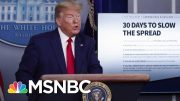 Trump White House Warns Up To 240,000 In U.S. Could Die From Coronavirus | The 11th Hour | MSNBC 1