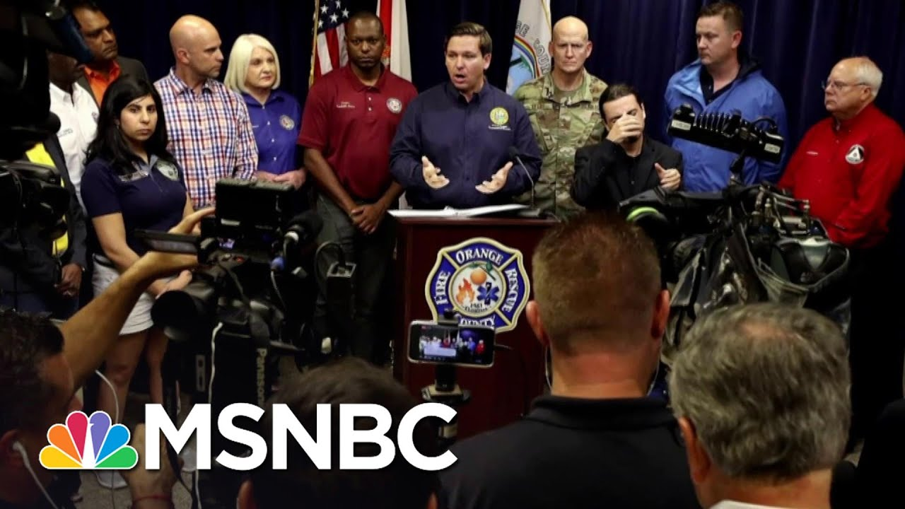 Florida Governor DeSantis Announces Statewide Stay-At-Home Order   MSNBC 1