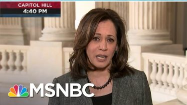 Sen. Harris: 'Let's Meet The Needs Of The Moment' | Deadline | MSNBC 7