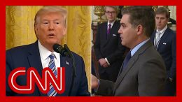 Jim Acosta presses Trump on his Covid-19 prediction 8