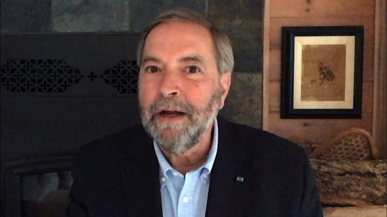 Quebec not doing enough testing to reopen province: Mulcair 1