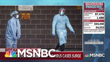 New York City hospitals on the front lines of coronavirus | Deadline | MSNBC 6
