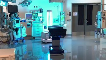 Canada's first disinfection robot being tested in Montreal 1