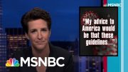 Maddow: Lack Of US National Coronavirus Policy Is Insane. And Fatal. | Rachel Maddow | MSNBC 5
