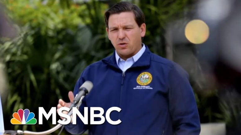 Gov. Admits He Didn't Know Asymptomatic People Could Pass Virus | Morning Joe | MSNBC 1