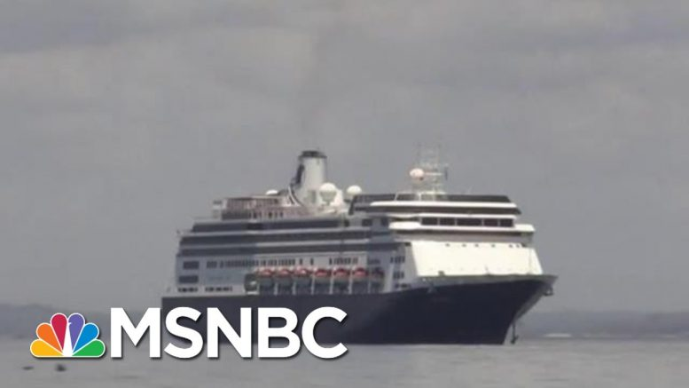 Deal Allows Cruise Ships With Coronavirus Patients To Dock In Florida | Hallie Jackson | MSNBC 1