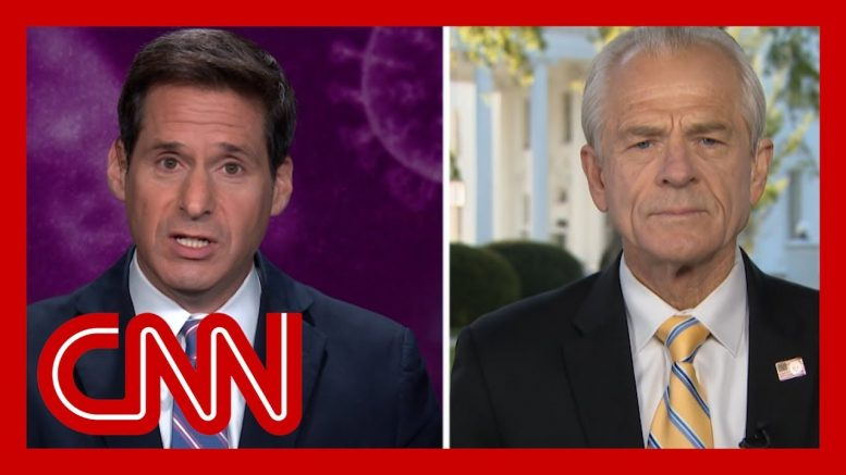 Berman to Navarro: Why are you qualified to weigh in on coronavirus treatments? 1