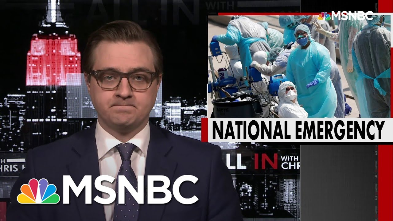 Chris Hayes: The Pandemic Is Coming For Every State   All In   MSNBC 7
